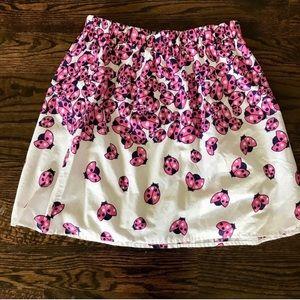 Lilly Pulitzer Ladybug Garden Briar Skirt-Sm EUC